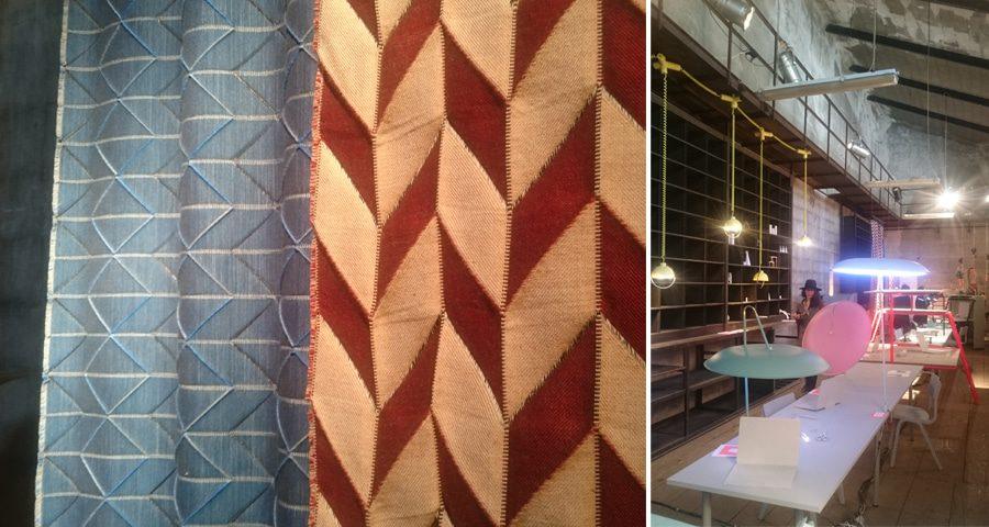 Textiles from Lund University - Ventura Lambrate, Milan Design Week
