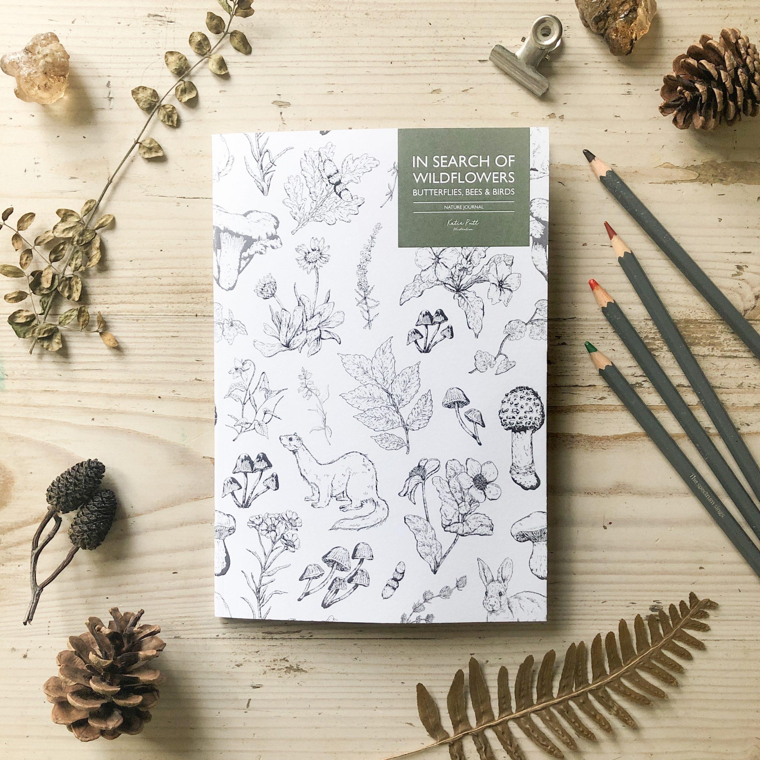 Katie Putt - Nature Journal Activity Book