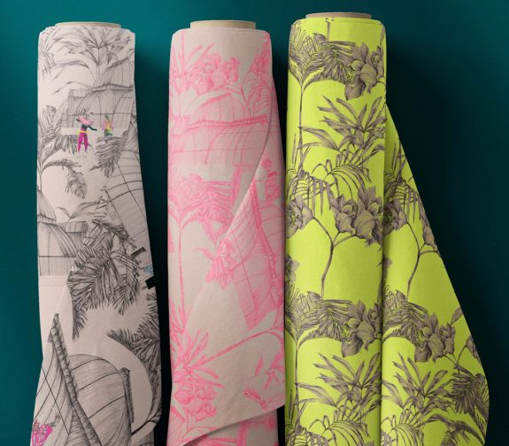 Patterned cloth rolls