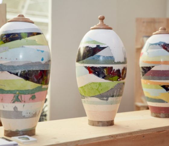 Vessel's Crafted out of Waste with Mia Parkinson