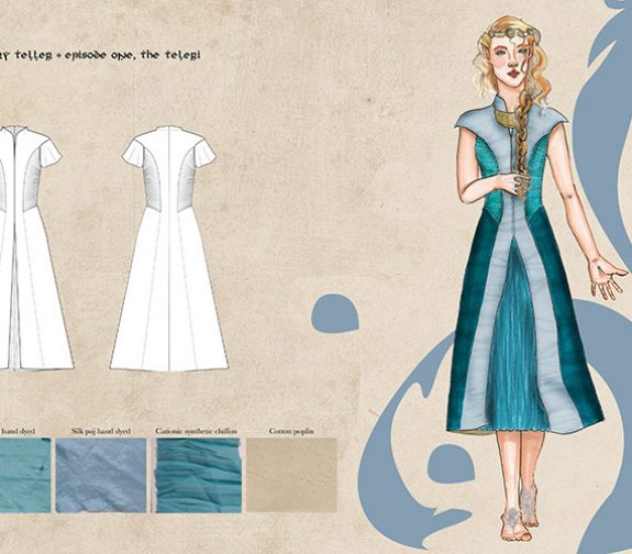 Design book page for 'The Book of Lost Tales