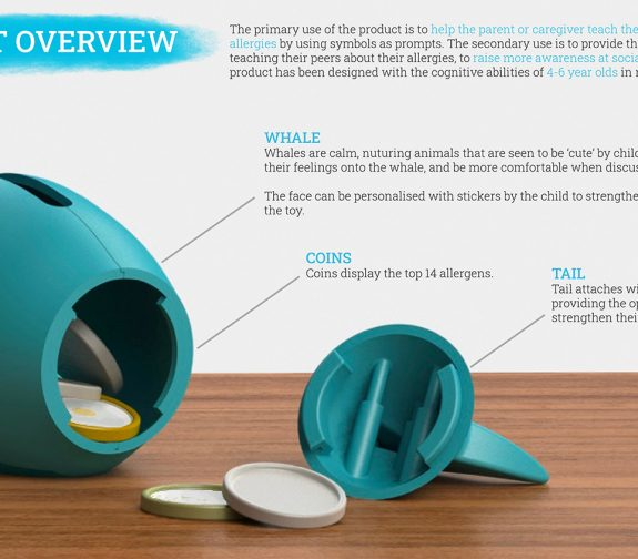 Children's Allergy Communication Aid - Product Overview