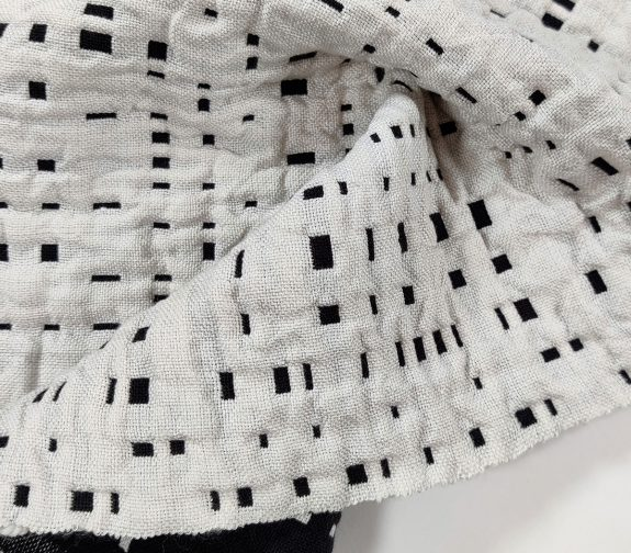 Intangible Craft: Dappled Light, Woven Quilt