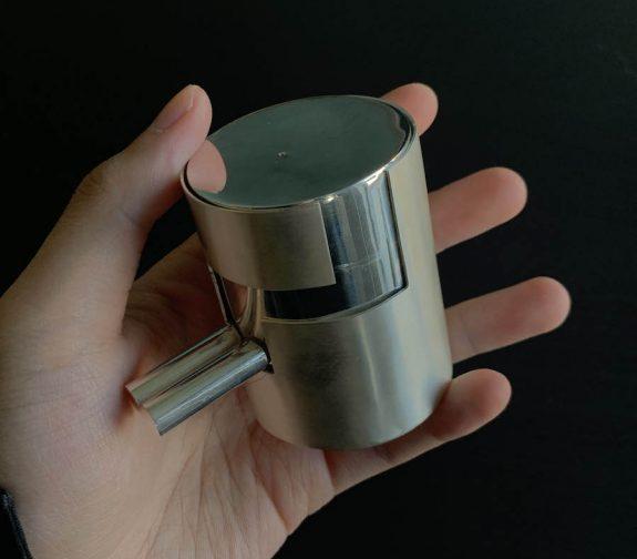 Silver secret box