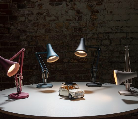 3 QUESTIONS WITH ANGLEPOISE