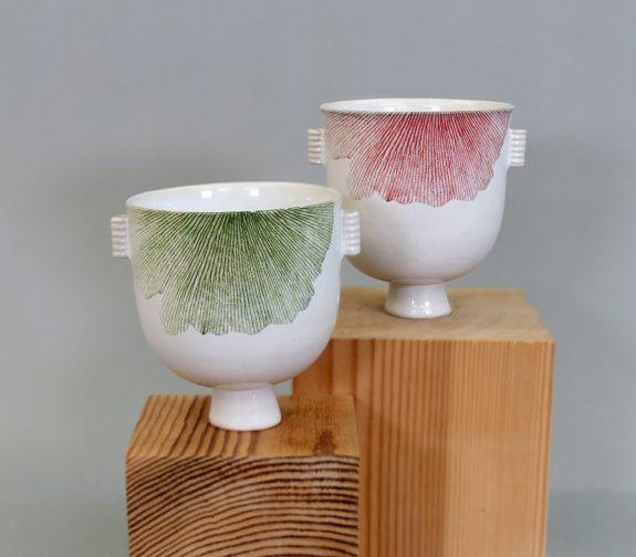 Japanese inspired teacups