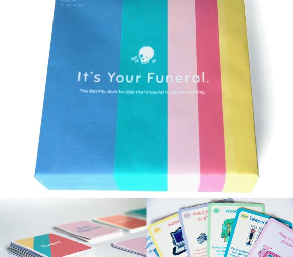"""It's Your Funeral"" – Family Board Game"