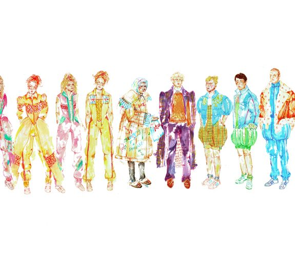 All Character Line Up