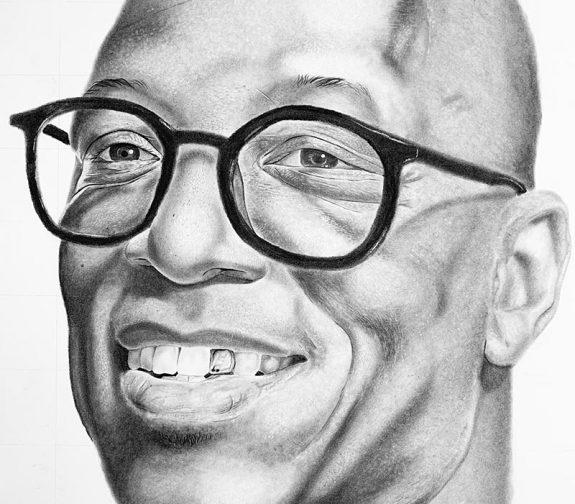Portrait of Ian Wright