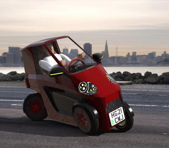 EcoTorque CC1 Personal Light Electric Vehicle