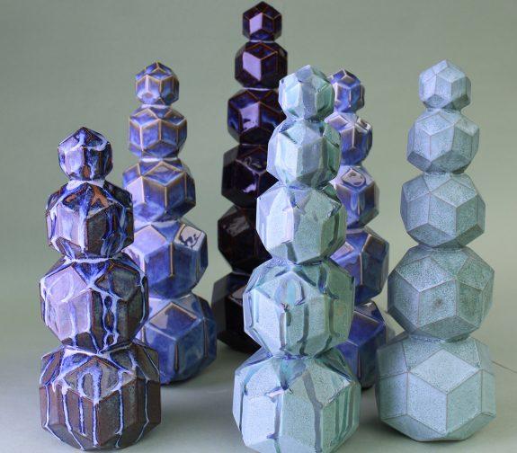 Rhombic Towers