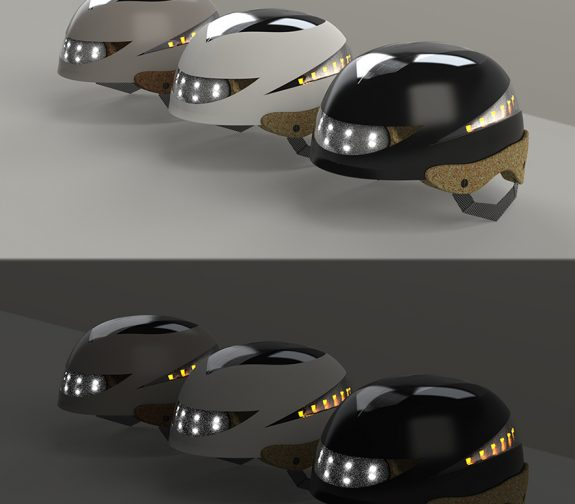 Solar Aglow Smart Sustainable Helmet
