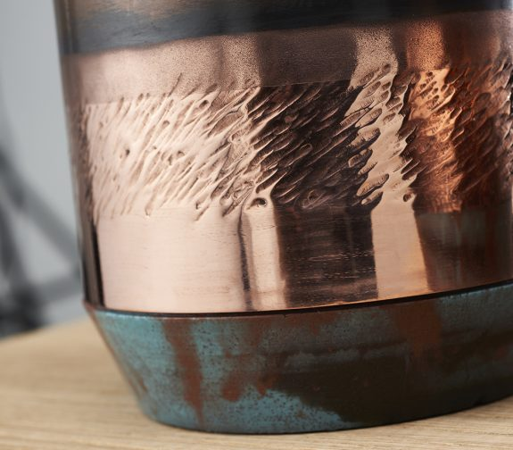 Complimenting Copper detail