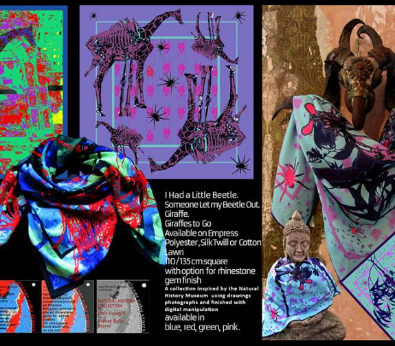 Juxtaposition - The Natural History Scarf Collection