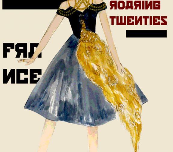 Anastasia Costume Plate for a Re-design of Anastasia (1997)