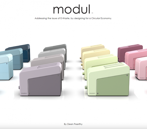'modul.' Addressing the issue of E-Waste by designing for a Circular Economy