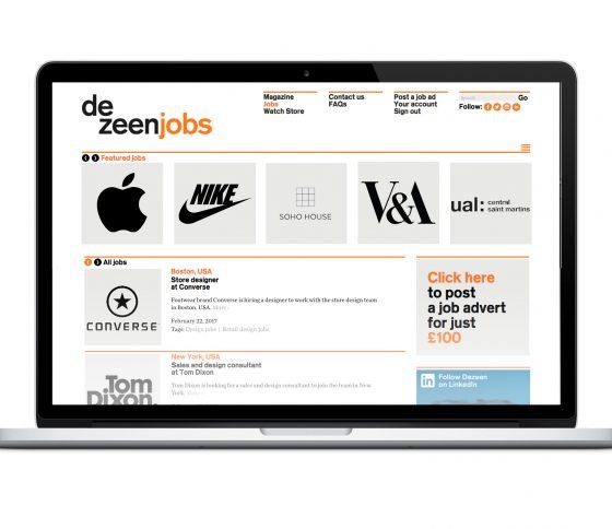 An Introduction to Dezeen Jobs
