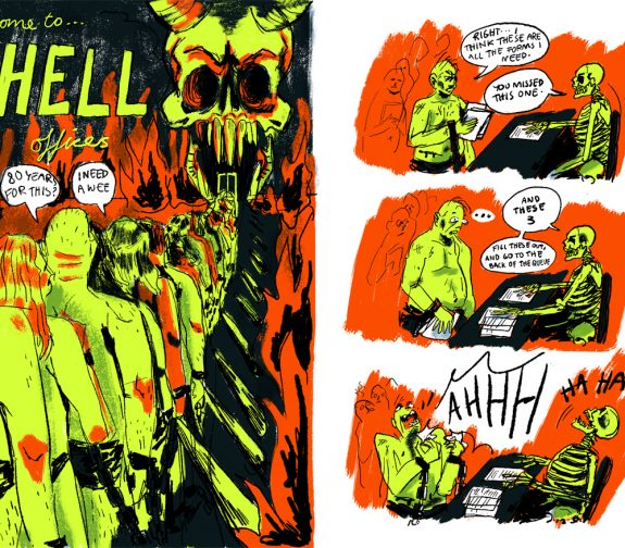 Disco Inferno, Pages 1 and 2