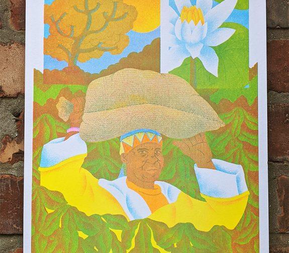 'Malawi' Riso Print