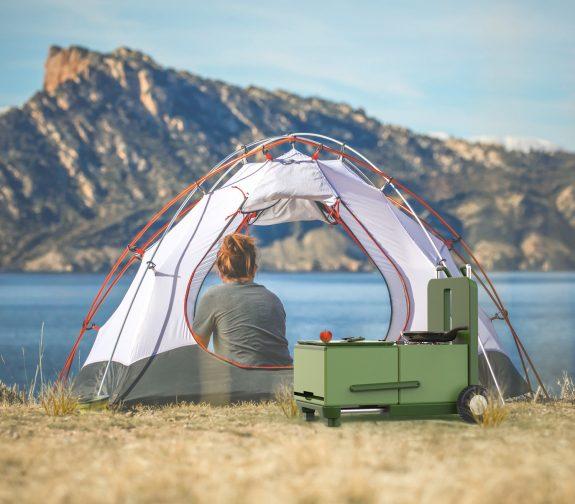Mobile Modular Camping Stove