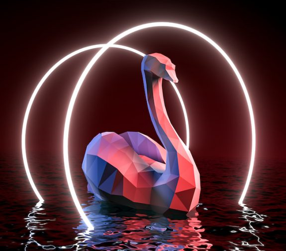 Silky Swan - 3D Character