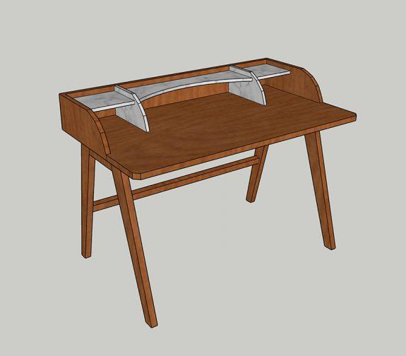 Final Design of First Desk