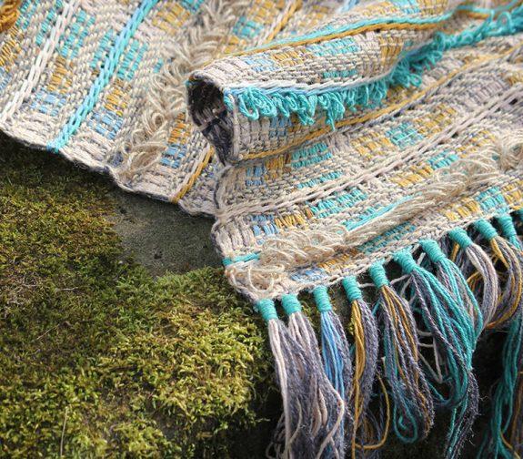 Tapestry Tassel Rug