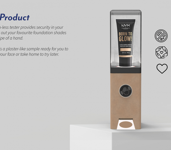 Brea - Touchless make-up test station
