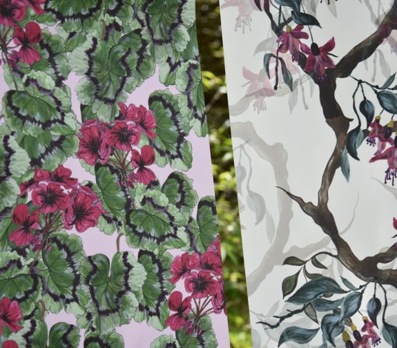 Garden cottage wallpaper collection