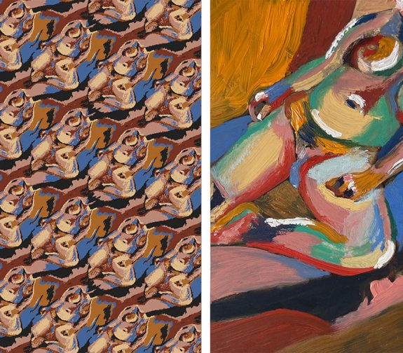 Femininity & Abstraction, Jacquard
