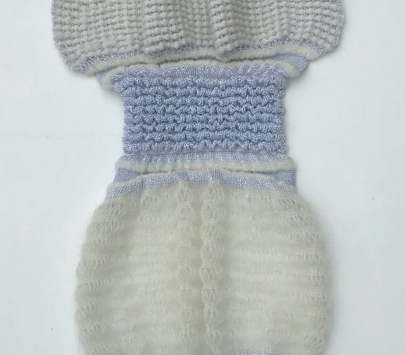 Messengers from above - knit sample