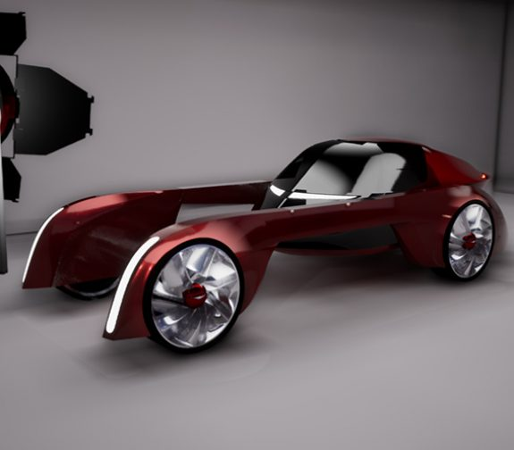 The MPC-03 Futuristic Modular Vehicle