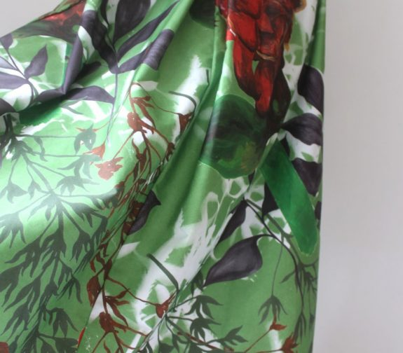How she spends her colours - The Marianne printed skirt