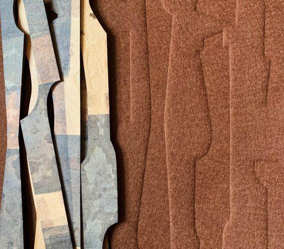 Brut | Embossed Wool Felt