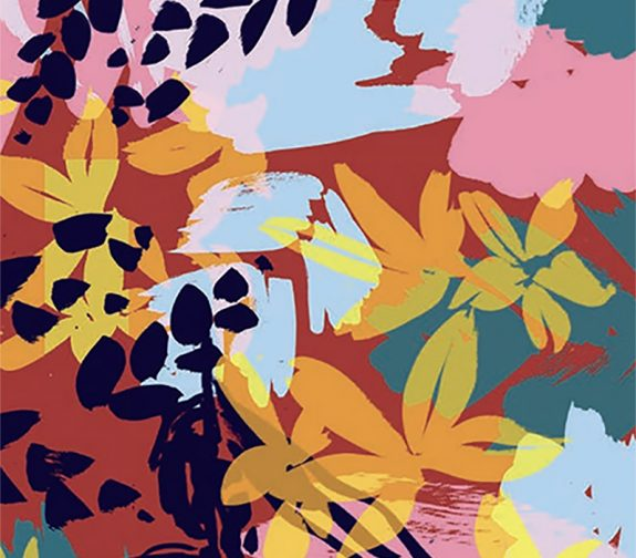 BA (Hons) Textile Design students team up with Patternbank