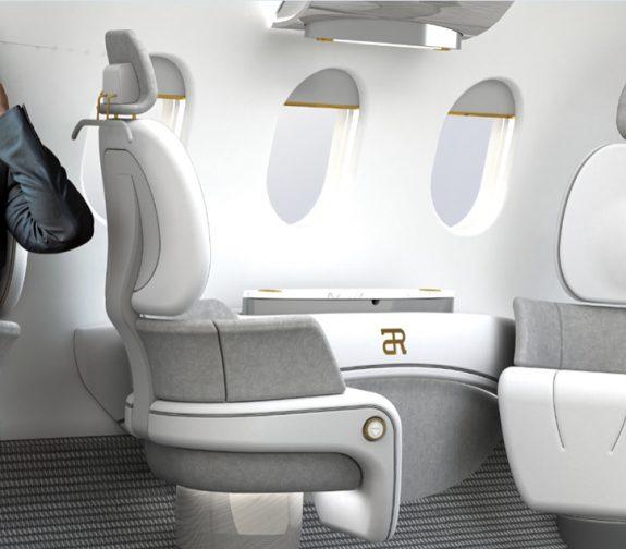 2025 Charter Jet Interior