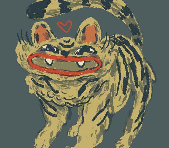 Lipstick Tiger