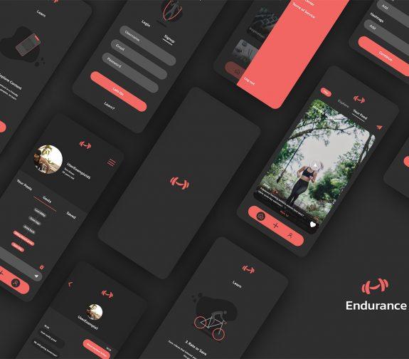 'Endurance' - A Social Media fitness app