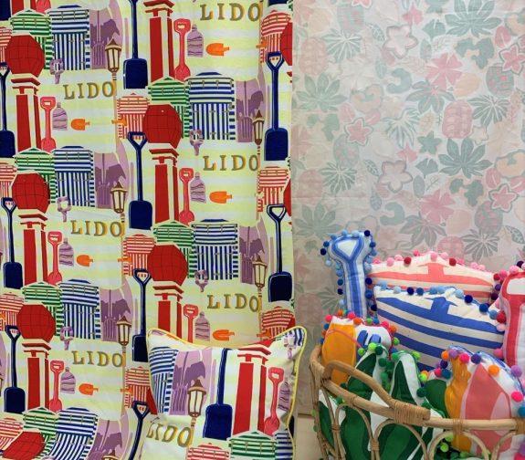 Lido and Printed Cushions