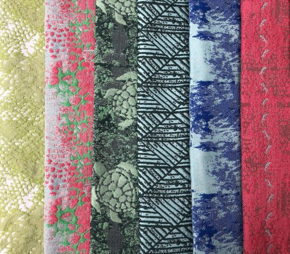 Tropical Transit - Jacquard Woven Samples