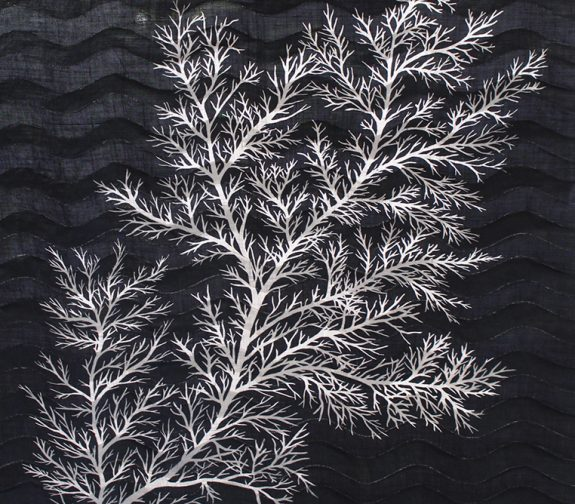 Symbiosis - Branch Coral Wave Print