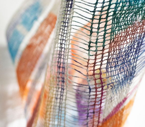 Sehnsucht Woven Painted Textile