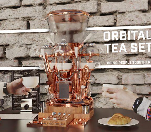 Orbital Tea Set