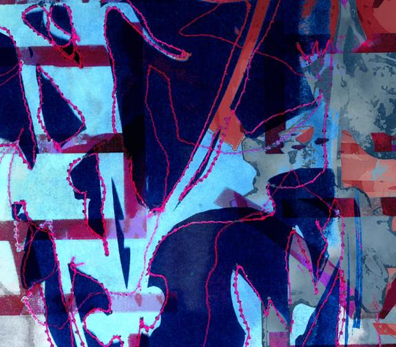 Cyanotype and Calligraphy