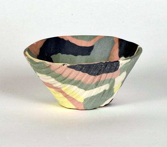 Merging Coloured Bowl