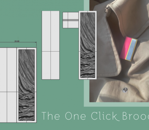 One Click Brooch