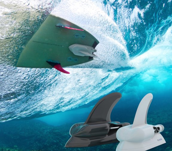 BlueFin - The Jet Powered Surfboard Attachment