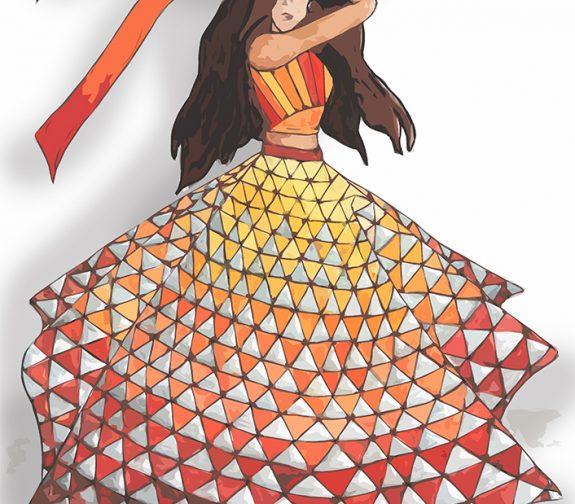 Esmeralda Costume Plate