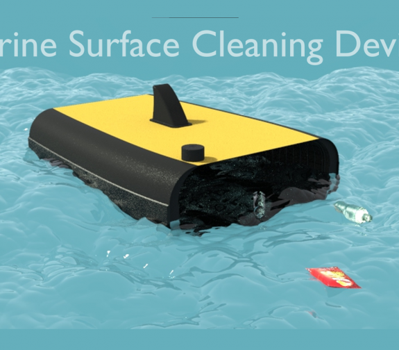 Marine Surface Cleaning Device