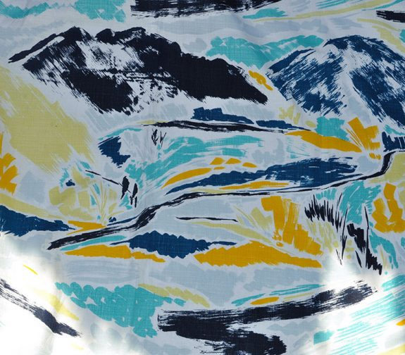 'Landscapes of Hope' Screen Printed Repeat Length
